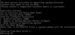 Can't Install OS from Bootable USB Drive on Dell Poweredge T430