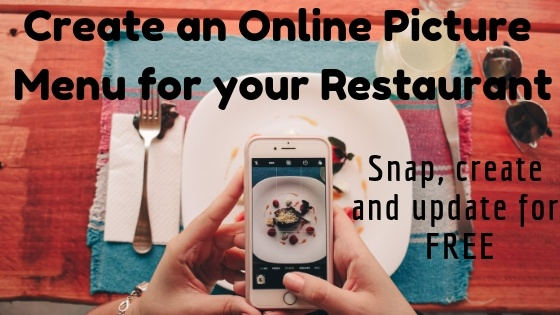 Create an Online Picture Menu for your Restaurant